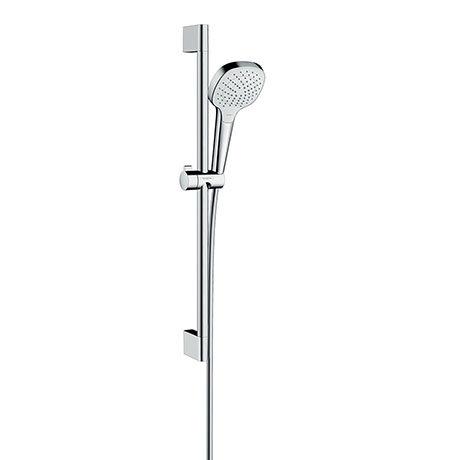 hansgrohe Croma Select E Vario 3 Spray Shower Slider Rail Kit 65cm - 26582400