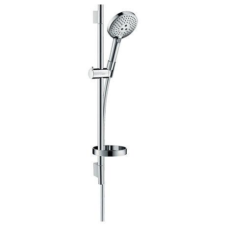 hansgrohe Raindance Select S 120 3-Spray 65cm Shower Slider Rail Kit with Soap Dish - 26630000