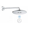 Grohe Rainshower SmartConnect 310 Shower Head & Arm with Wireless Remote - 26640000 profile small image view 1