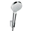 hansgrohe Crometta EcoSmart 1 Spray Handshower with Holder & Hose - 26568400 profile small image view 1