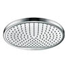 hansgrohe Crometta S 240 1 Spray Shower Head - 26723000 profile small image view 1