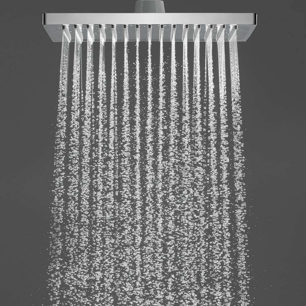 The hansgrohe Crometta E 240 Shower Head | How To Clean A Shower Head | Victorian Plumbing