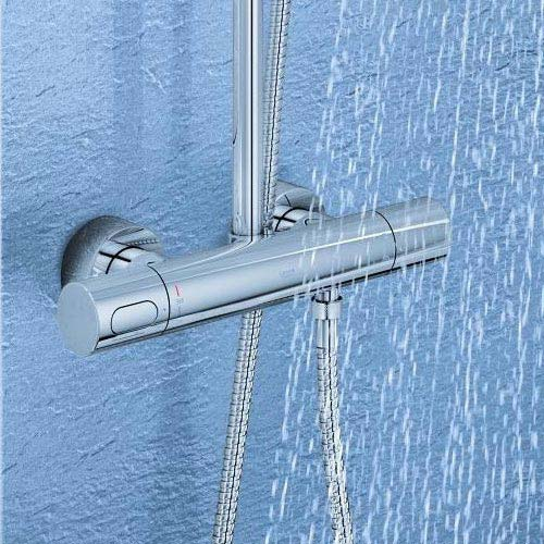 Grohe Rainshower System 210 Thermostatic Shower System - 27032001 profile large image view 4