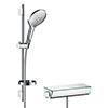 hansgrohe Raindance Select S 150 with Ecostat Select Thermostatic Shower Mixer - Chrome - 27036000 profile small image view 1