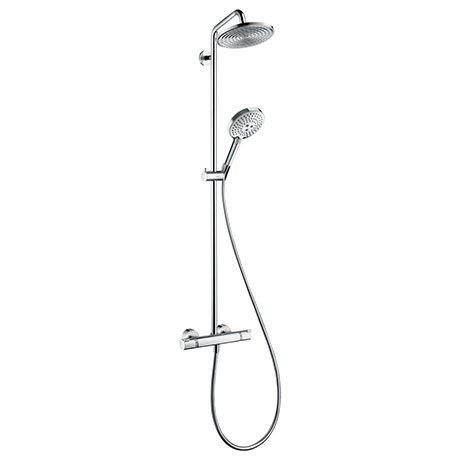 hansgrohe Raindance S Showerpipe 240 Thermostatic Shower Mixer - 27115000