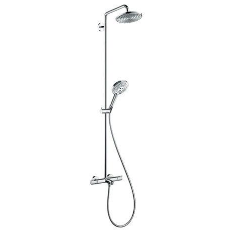 hansgrohe Raindance S Showerpipe 240 Thermostatic Bath Shower Mixer - 27117000