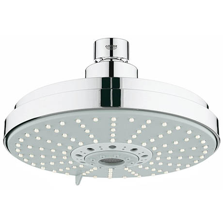 Grohe Rainshower Cosmopolitan 160 Head Shower with 4 Spray Patterns - 27134000