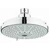 Grohe Rainshower Cosmopolitan 160 Head Shower with 4 Spray Patterns - 27134000 profile small image view 1