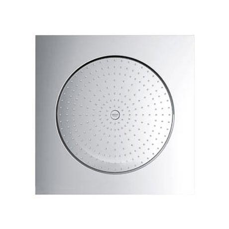 "Grohe Rainshower F-Series 20"" Ceiling Head Shower with 1 Spray Pattern - 27286000  Profile Large Ima"