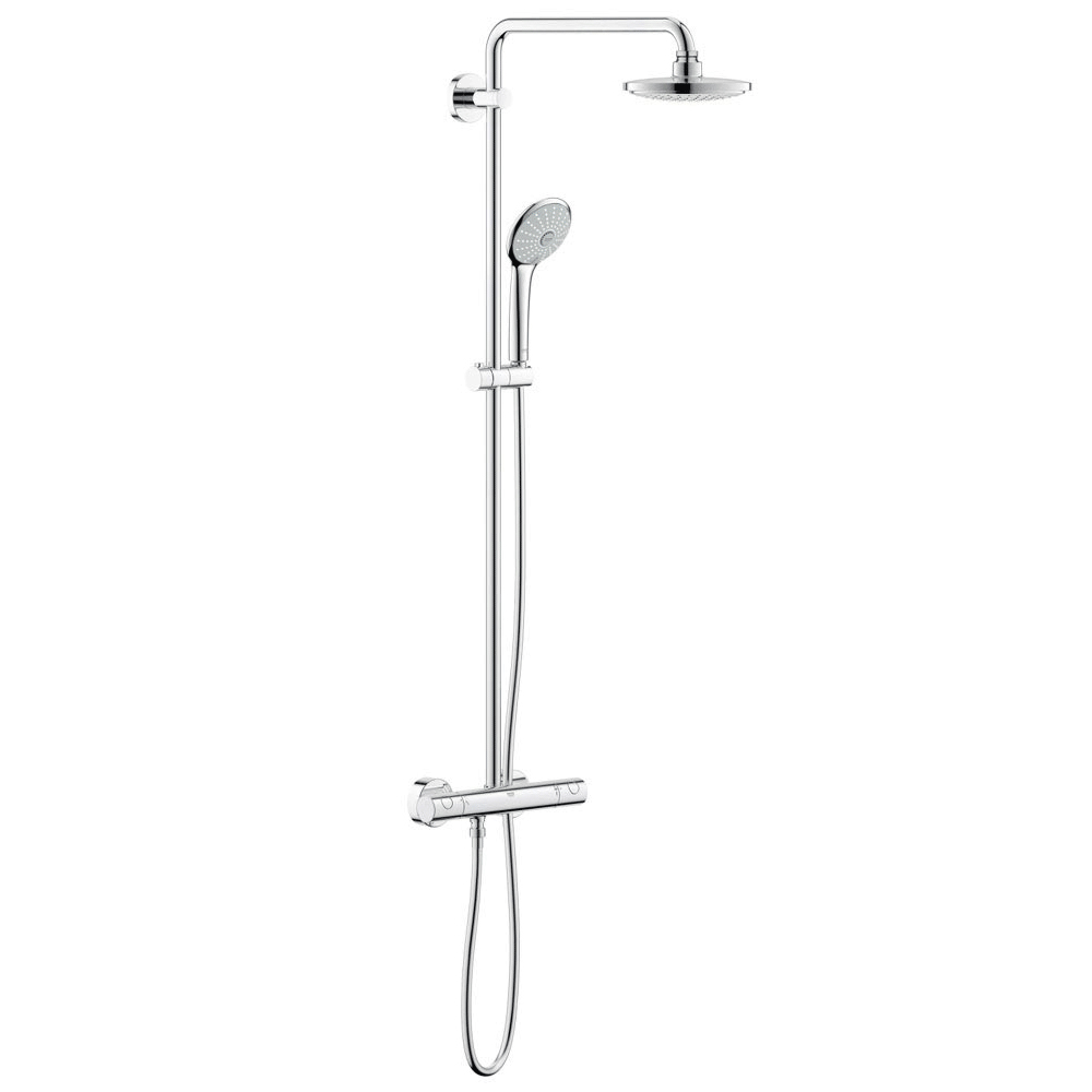 Grohe Euphoria 180 Thermostatic Shower System - 27296001