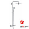 Grohe Euphoria 260 Thermostatic Shower System - 27296002 profile small image view 1