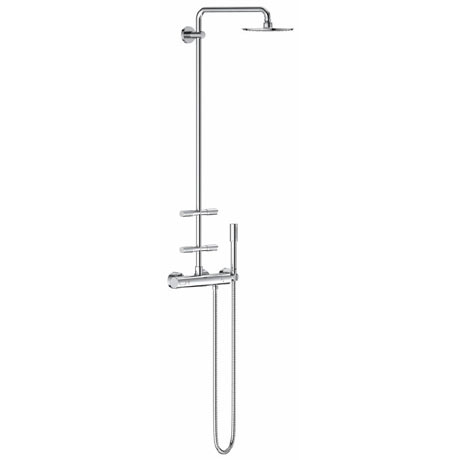 Grohe Rainshower System 210 Thermostatic Shower System with Body Jets - 27374000
