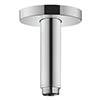 hansgrohe Crometta S 240 100mm Ceiling Shower Arm - 27393000 profile small image view 1