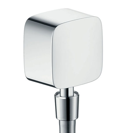hansgrohe FixFit Wall Outlet with Non-Return Valve and Pivot Joint - 27414000