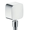 hansgrohe FixFit Wall Outlet with Non-Return Valve and Pivot Joint - 27414000 profile small image view 1