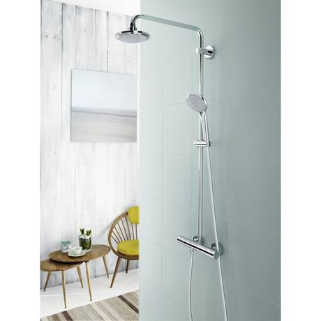 grohe euphoria 180 shower system kit at victorian plumbing. Black Bedroom Furniture Sets. Home Design Ideas