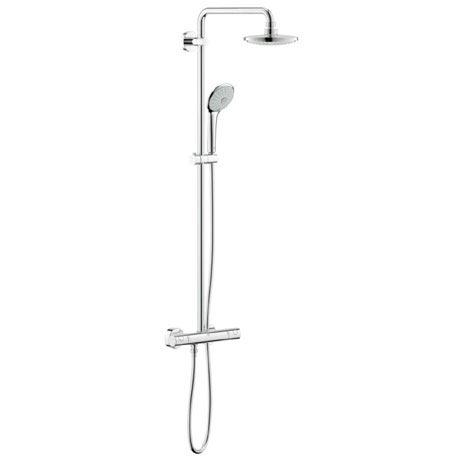 Grohe Euphoria 180 Shower System Thermostatic Shower Mixer and Kit - 27420001