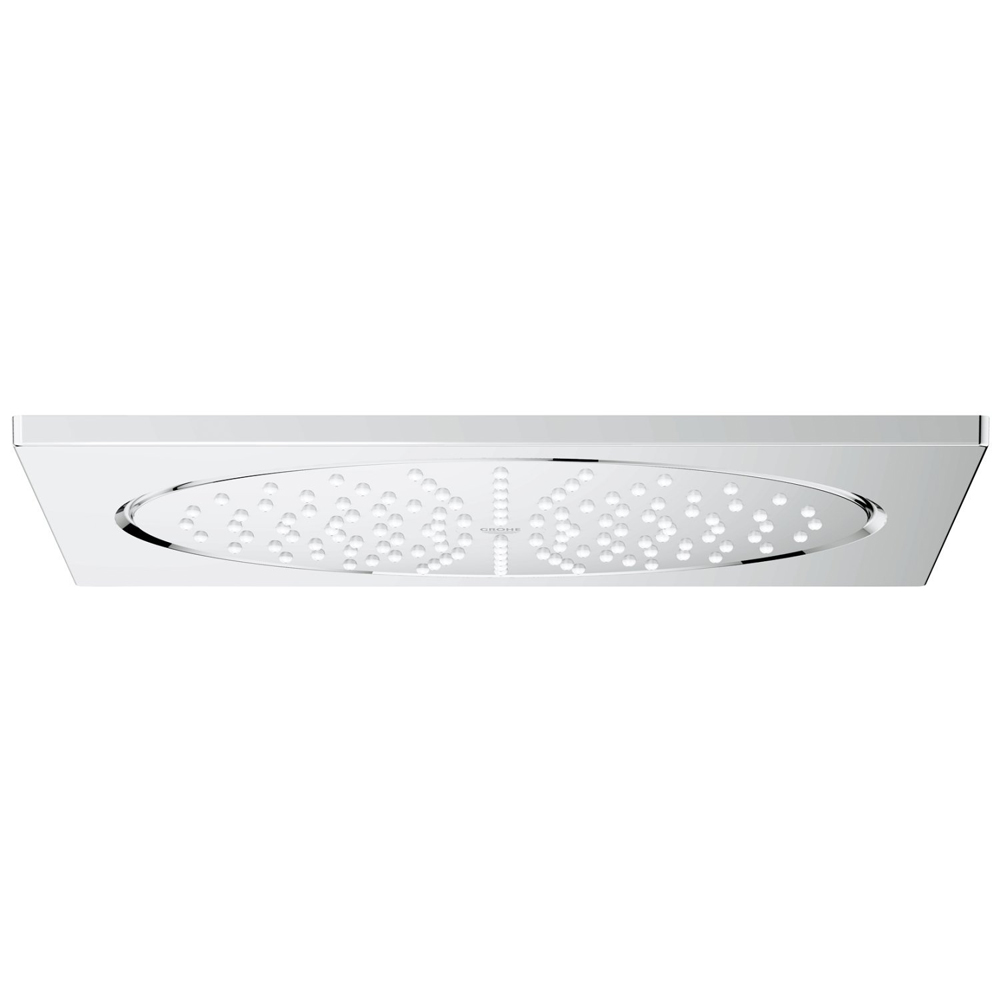 """Grohe Rainshower F-Series 10"""" Ceiling Head Shower with 1 Spray Pattern - 27467000"""