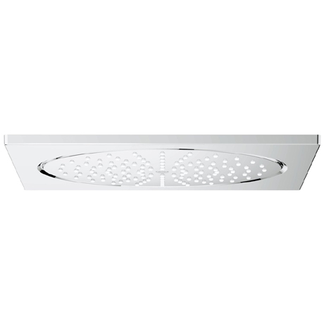 "Grohe Rainshower F-Series 10"" Ceiling Head Shower with 1 Spray Pattern - 27467000"