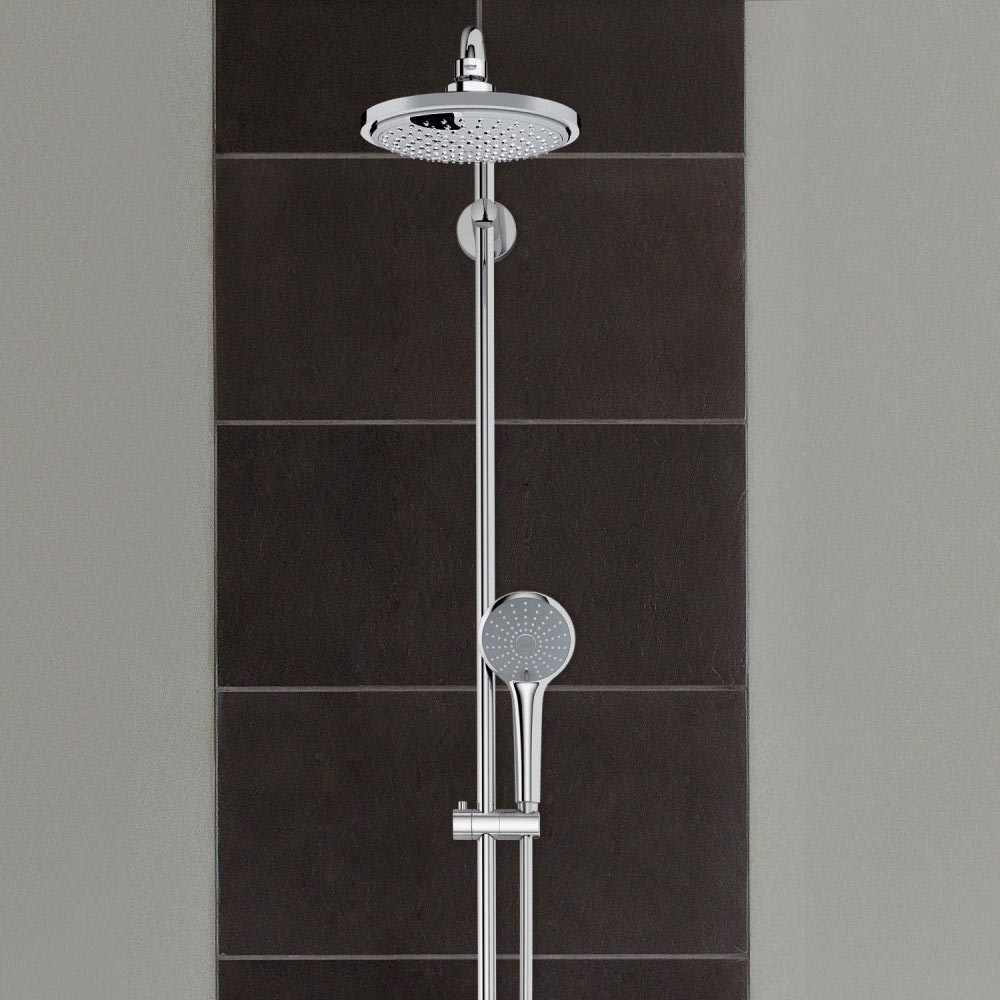 Grohe Euphoria 180 Shower System Thermostatic Bath Mixer and Kit - 27475000 Feature Large Image
