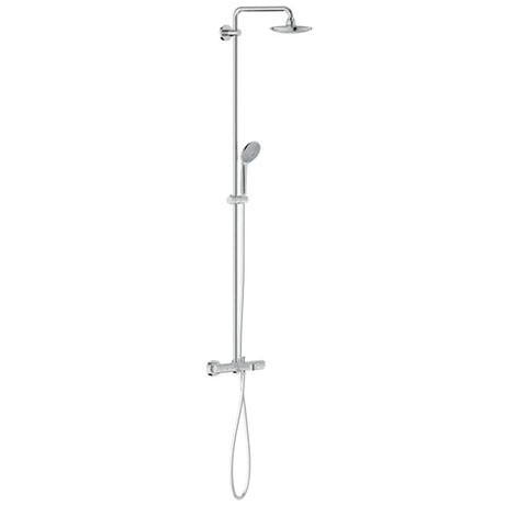 Grohe Euphoria 180 Shower System Thermostatic Bath Mixer and Kit - 27475000