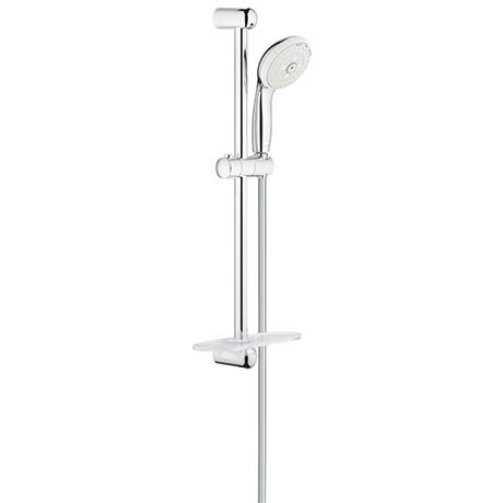 Grohe New Tempesta 100 Shower Rail Set 3 Sprays with EasyReach Tray - 27600001