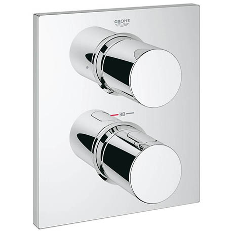 Grohe Grohtherm F Thermostatic 2-Way Diverter Shower Mixer Trim - 27618000