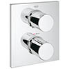 Grohe Grohtherm F Thermostatic 2-Way Diverter Shower Mixer Trim - 27618000 profile small image view 1
