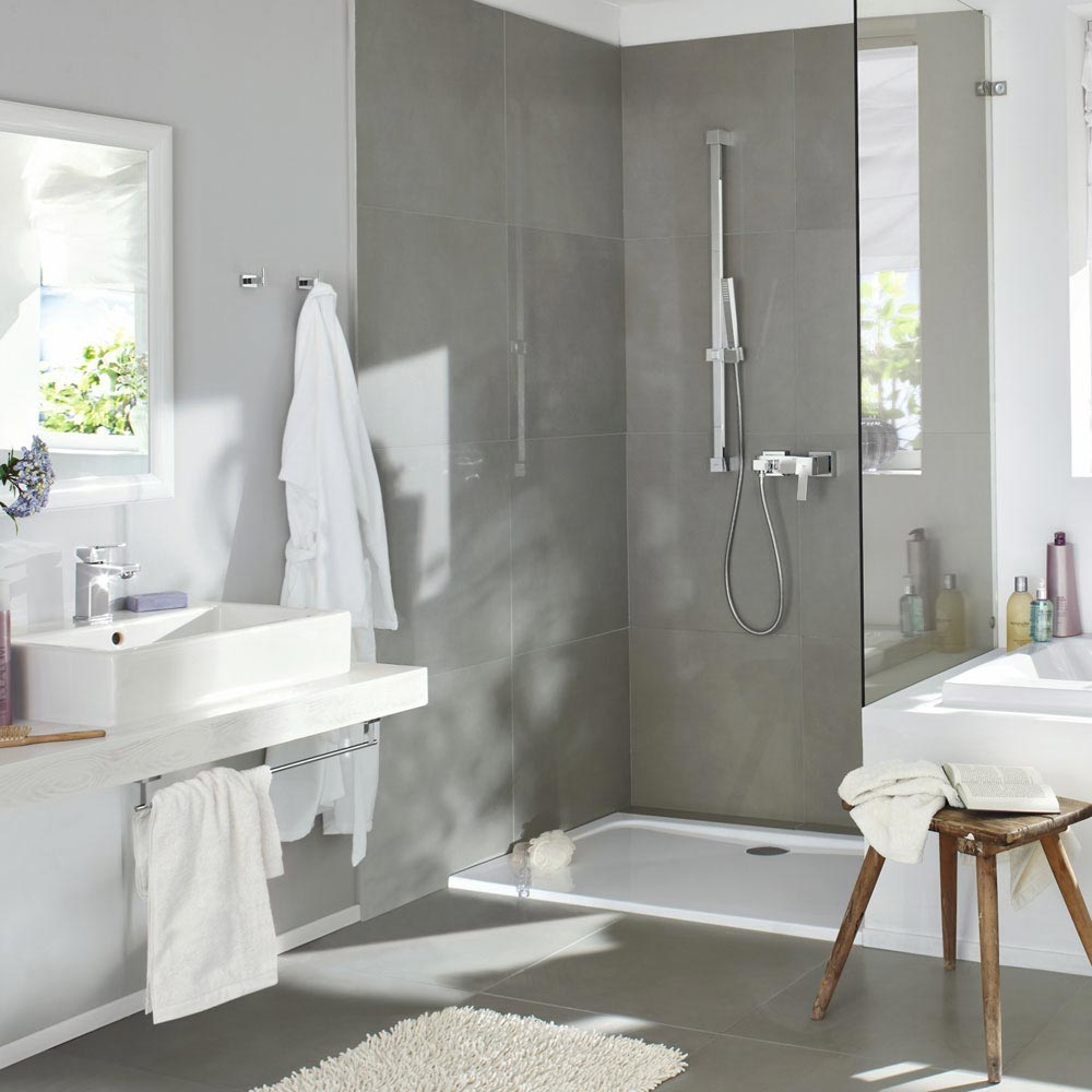 Grohe Euphoria Cube Stick Shower Slider Rail Kit - 27700000 profile large image view 3