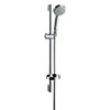 hansgrohe Croma 1 Spray 65cm Shower Slider Rail Kit with Soap Dish - 27717000 profile small image view 1