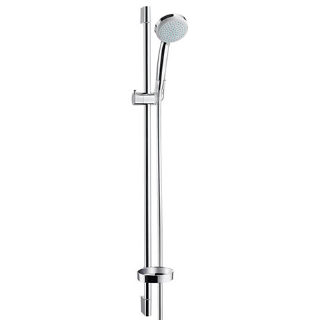 Hansgrohe Croma Vario 4 Spray 90cm Shower Slider Rail Kit with Soap Dish - 27771000