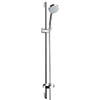 hansgrohe Croma Vario 4 Spray 90cm Shower Slider Rail Kit with Soap Dish - 27771000 profile small image view 1