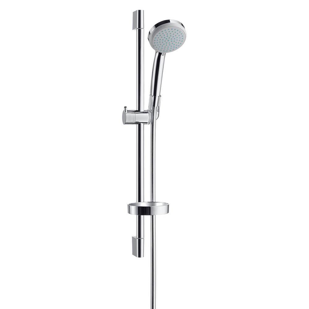 hansgrohe Croma Vario 2 Spray 65cm Shower Slider Rail Kit with Soap Dish - 27772000