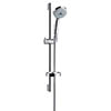 hansgrohe Croma Multi EcoSmart 3 Spray 65cm Shower Slider Rail Kit with Soap Dish - 27777000 profile small image view 1