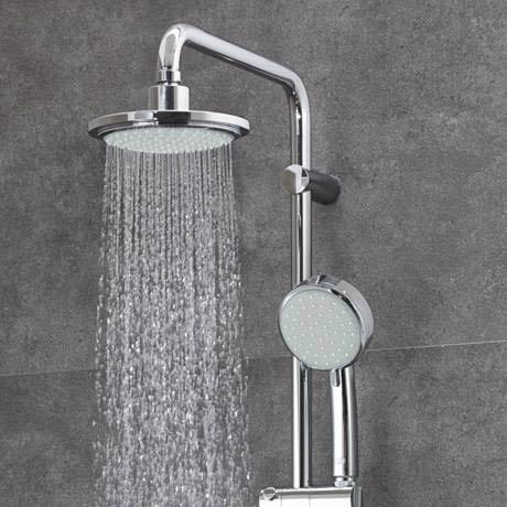 grohe new tempesta cosmopolitan 160 shower system. Black Bedroom Furniture Sets. Home Design Ideas