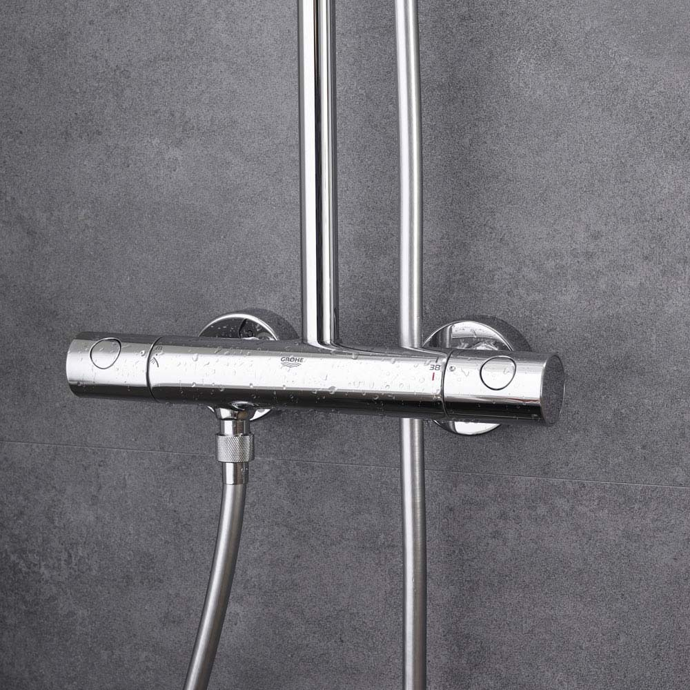 Grohe New Tempesta Cosmopolitan 160 Thermostatic Shower System - 27922000 profile large image view 4