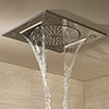 """Grohe Rainshower F-Series 15"""" Ceiling Head Shower with 3 Spray Patterns - 27939001 profile small image view 1"""