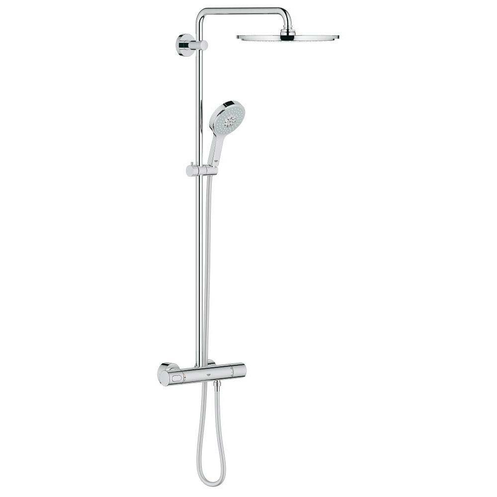 Grohe Rainshower System 310 Thermostatic Shower System - 27968000 Large Image