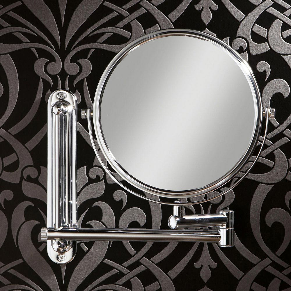 HIB Tila Double Arm Magnifying Mirror - 28200 profile large image view 1