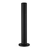 JTP Vos Matt Black Pullout Handset with Waste Drain profile small image view 1