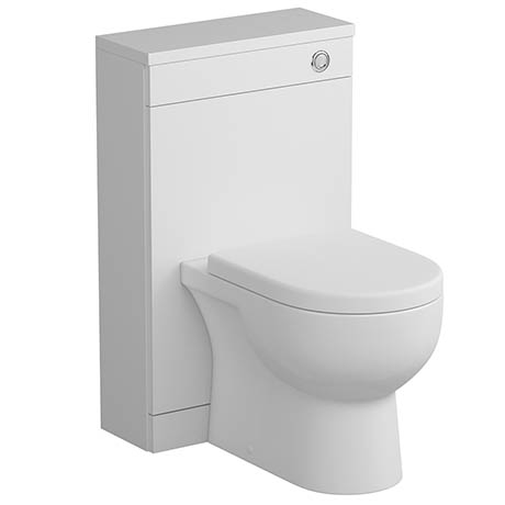 Tissino Angelo 500mm WC Unit - Gloss White