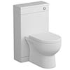 Tissino Angelo 500mm WC Unit - Gloss White profile small image view 1