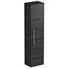 Tissino Angelo 1400mm Wall Hung Side Unit - Barossa Oak profile small image view 1