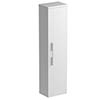 Tissino Angelo 1400mm Wall Hung Side Unit - Gloss White profile small image view 1