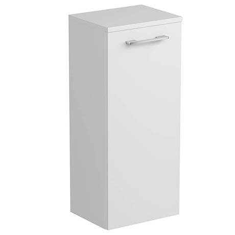 Tissino Angelo 820mm Wall Hung Side Unit - Gloss White