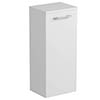 Tissino Angelo 820mm Wall Hung Side Unit - Gloss White profile small image view 1