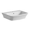 Tissino Bianca 56cm Basin (1 Tap Hole) profile small image view 1
