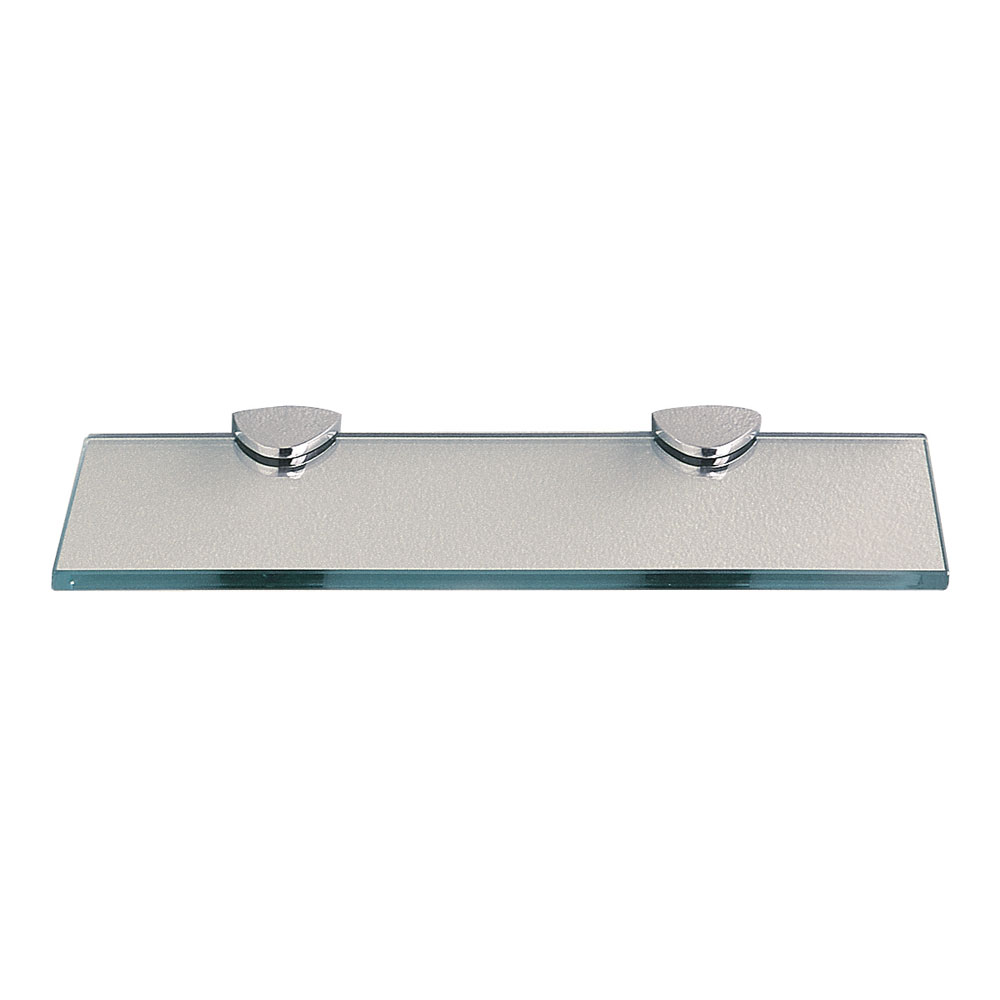 Miller classic glass shelf now available at victorian for Small glass wall shelf