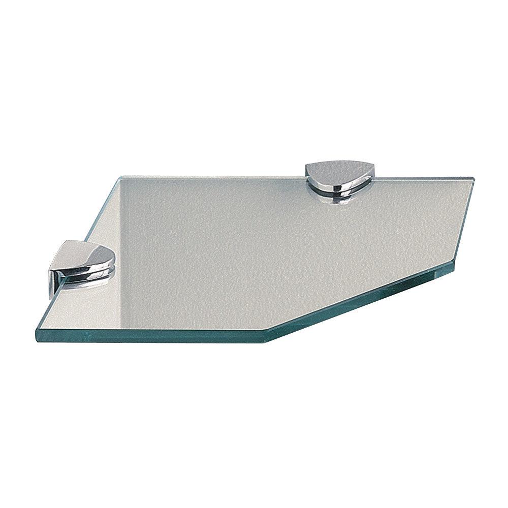 Miller - Classic Corner Glass Shelf - 292020 Large Image