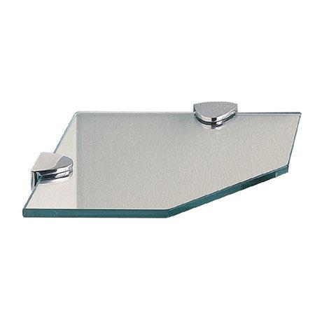 Miller - Classic Corner Glass Shelf - 292020